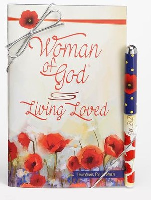 Living Loved, Pen and Devotion Book Gift Set  -
