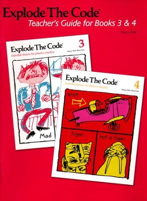 Explode the Code, Teachers Guide for Books 3 and 4  -