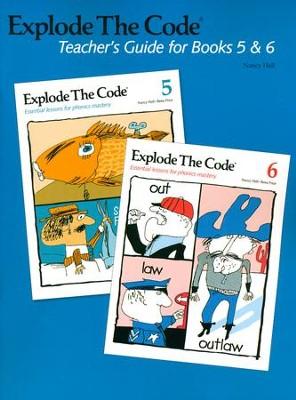 Explode the Code, Teachers Guide for books 5 and 6  -