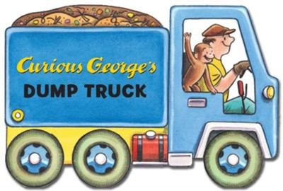 Curious George's Dump Truck (mini movers shaped board books)  -     By: H.A. Rey