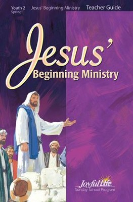 Youth 2: Jesus' Beginning Ministry Teacher Guide   -