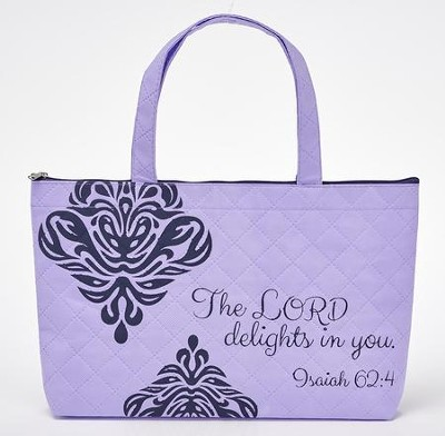 The Lord Delights In You Tote Bag  -