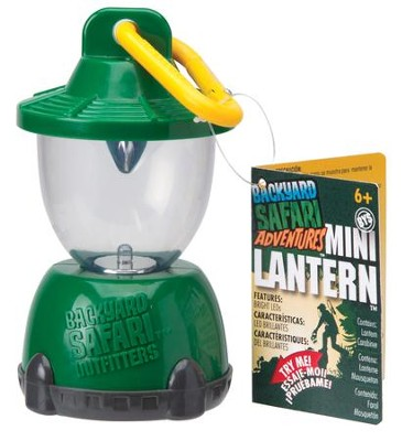 Back Yard Safari Mini Lantern   -