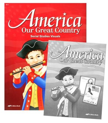 Abeka America: Our Great Country Social Studies Visuals  (Grade K5)  -