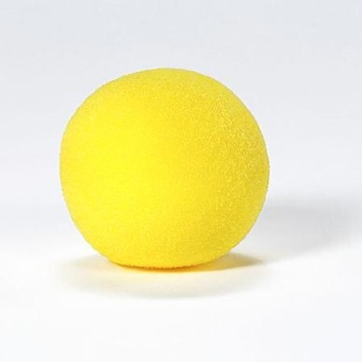 4 Colorful Yellow Foam Ball   -