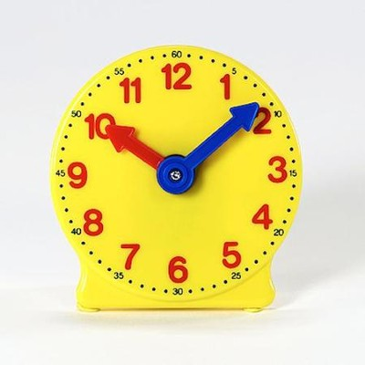 Plastic Geared Clock   -