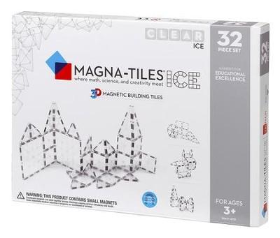 Magna Tiles 32 Piece Set Ice
