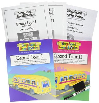 Sing, Spell, Read & Write Grand Tour, Level 2 Kit   -     By: Homeschool