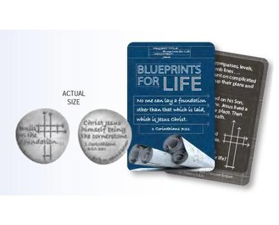Blueprints For Life, Pocket Token, Coin and Card  -