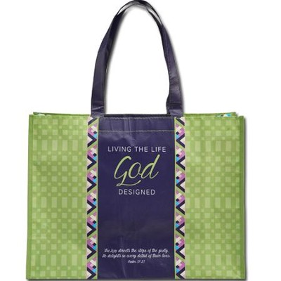 Stepping Out In Faith, Tote Bag  -