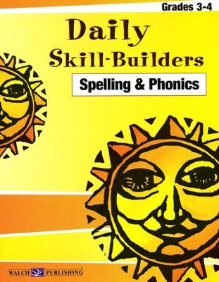 Daily Skill Builders Spelling Grades 3 to 4   -