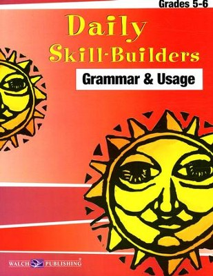 Daily Skill Builders Grammar and Usage Grades 5 to 6  -     By: Susan Guare