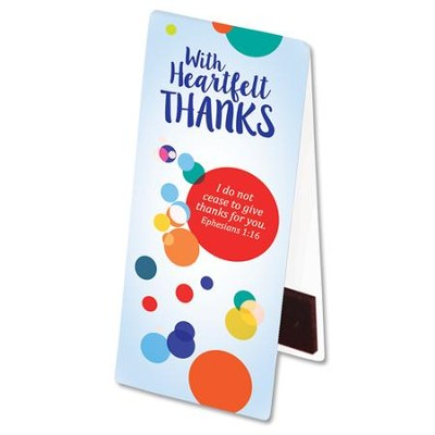 Heartfelt Thanks Page Magnetic Page Hugger  -