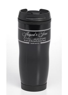 Shaped to Serve Travel Mug  -