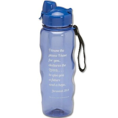 I Know the Plans Water Bottle  -