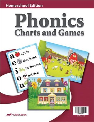 K4-K5 Homeschool Phonics Charts and Games   -