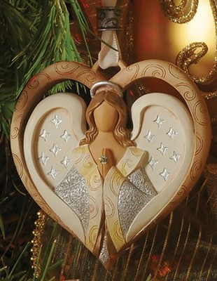 Angel Heart Ornament, Legacy of Love   -     By: Kim Lawrence