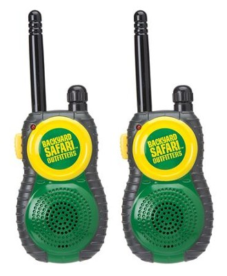 Back Yard Safari Walkie Talkies   -
