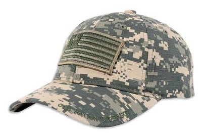 Military Flag Cap, Digital Camo  -