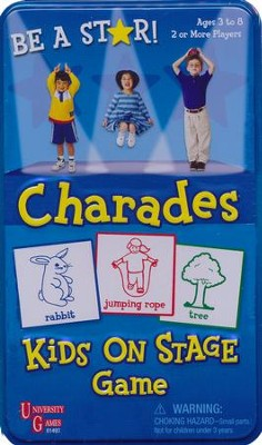 Charades Kids on Stage Tin  -