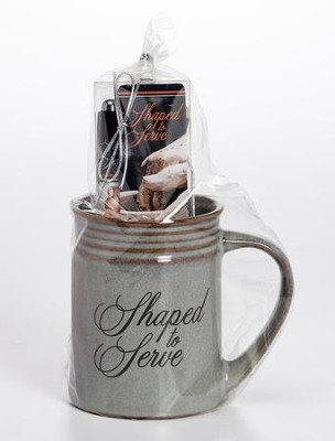 Shaped to Serve Mug, Bookmark, Pen Gift Set  -