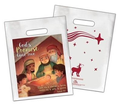 Goodie Bag: God's Promise Came True, Pack of 12  -