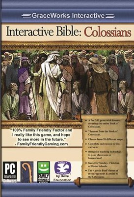 Interactive Bible: Colossians Computer Game (Access Code Only)   -
