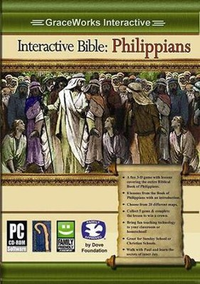 Interactive Bible: Philippians Computer Game (Access Code Only)   -