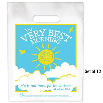 The Very Best Morning Goodie Bags, Pack of 12  -