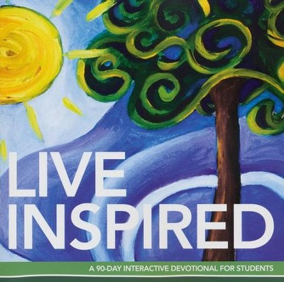 Live inspired a 90 day interactive devotional for students live inspired a 90 day interactive devotional for students by barefoot minstries malvernweather Images