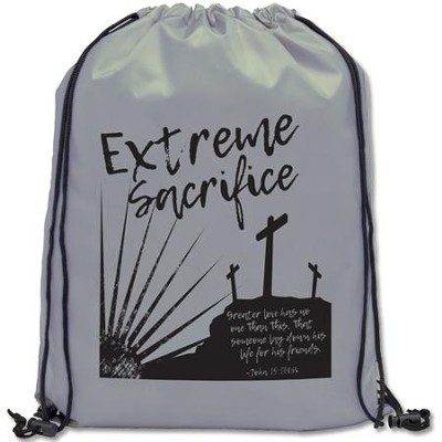 Extreme Sacrifice Drawstring Backpack  -