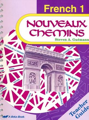 Abeka Nouveaux Chemins French Year 1 Teacher Guide   -