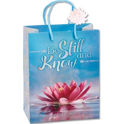 Be Still and Know Gift Bag  -