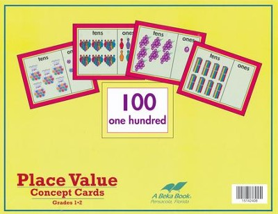 Abeka Place Value Concept Cards   -