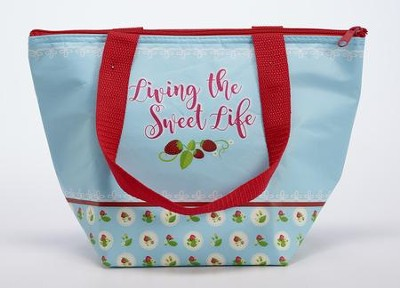 Living the Sweet Life Insulated Lunch Tote  -