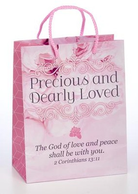 Precious and Dearly Loved Gift Bag, Medium    -