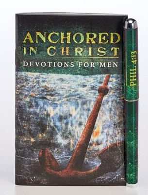 Anchored in Christ Pen & Softcover Devotion Book Gift Set  -
