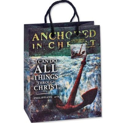 I Can Do All Things Through Christ Gift Bag  -