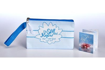 Be Still and Know Wristlet and Booklet  -