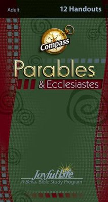 Parables & Ecclesiastes Adult Bible Study Weekly Compass Handouts  -