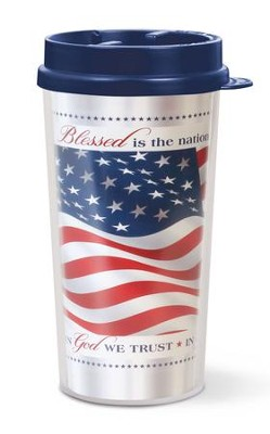 Blessed Is The Nation, Tumbler Mug  -
