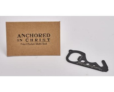 Anchored in Christ 7- in-1 Pocket Tool  -