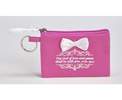 The God of Love and Peace Shall Be With You Coin Purse  -