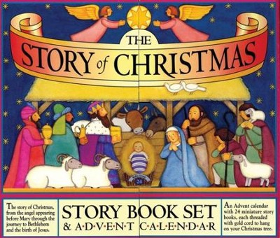 The Story of Christmas: Story Book Set & Advent Calendar  -