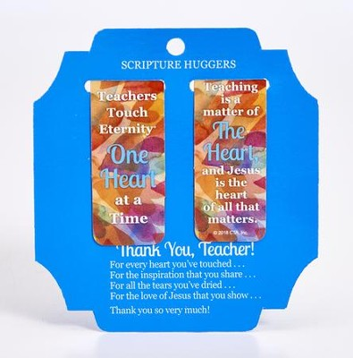 Teachers Touch Eternity Magnetic Page Huggers, Set of 2  -