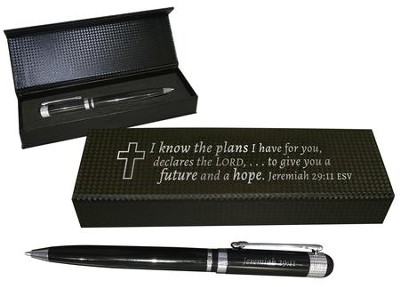 I Know the Plans I Have For You Executive Design Pen Set  -