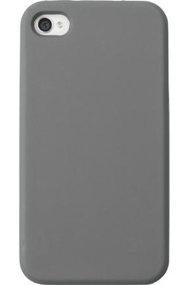 Blank iPhone 4 Case for Personalization, Gray  -