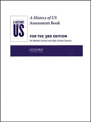 A History of US: Assessment Books: Books 1 - 10 Third Edition  -