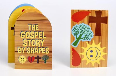 The Gospel Story By Shapes Accordion-Fold Booklet  -