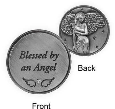 Blessed By An Angel, Pocket Token  -